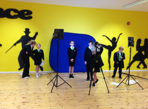 SEJ pupils filming