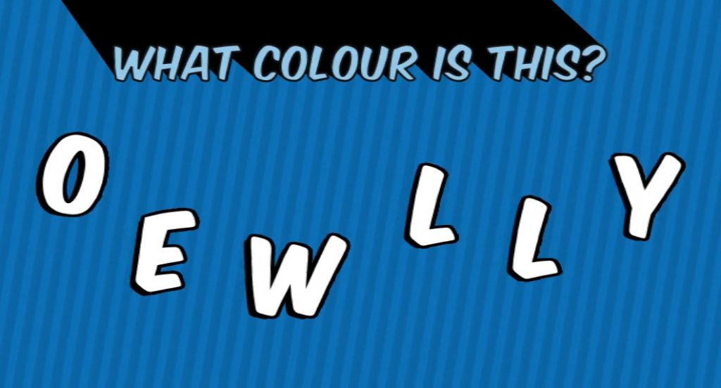 Colour anagram